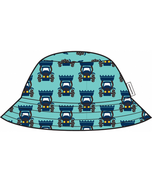 Maxomorra Tractor sun hat without cord