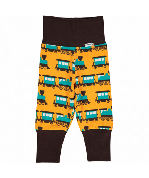 Maxomorra Train rib pants