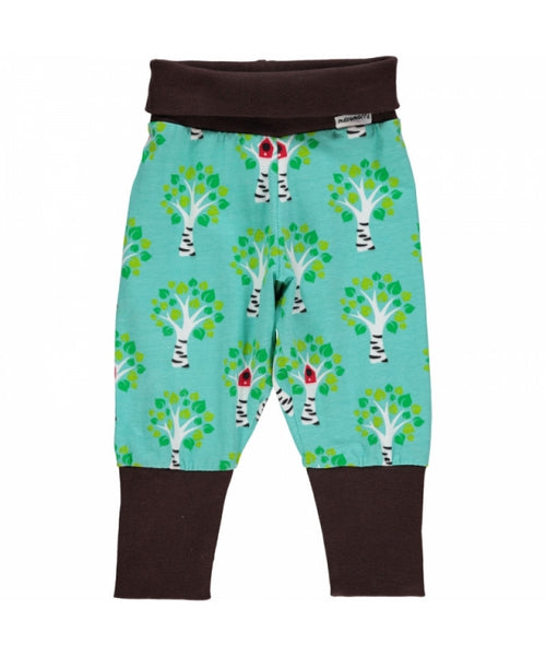 Maxomorra Tree rib pants