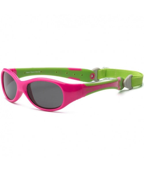 Real Shades Baby 0+  'Explorer' Cherry Pink Lime