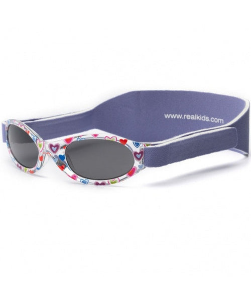 Real Shades Baby 0+  'My First Shades' Purple Hearts