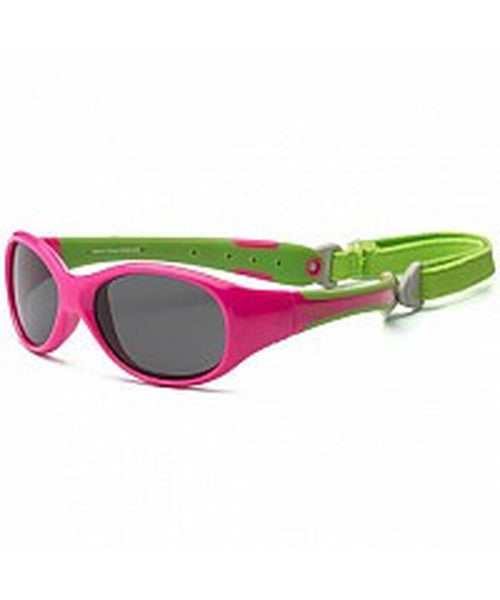 Real Shades Toddler  'Explorer' Cherry Pink Lime