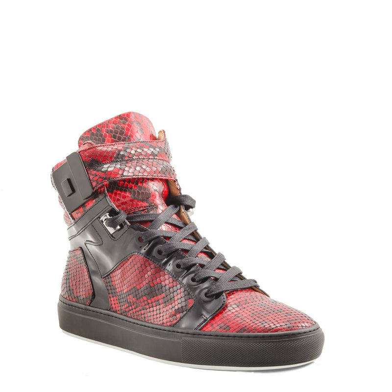 Black Soul Red | Black | Python Mat for NEYMAR