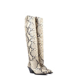 Texas High Heels Grey Python