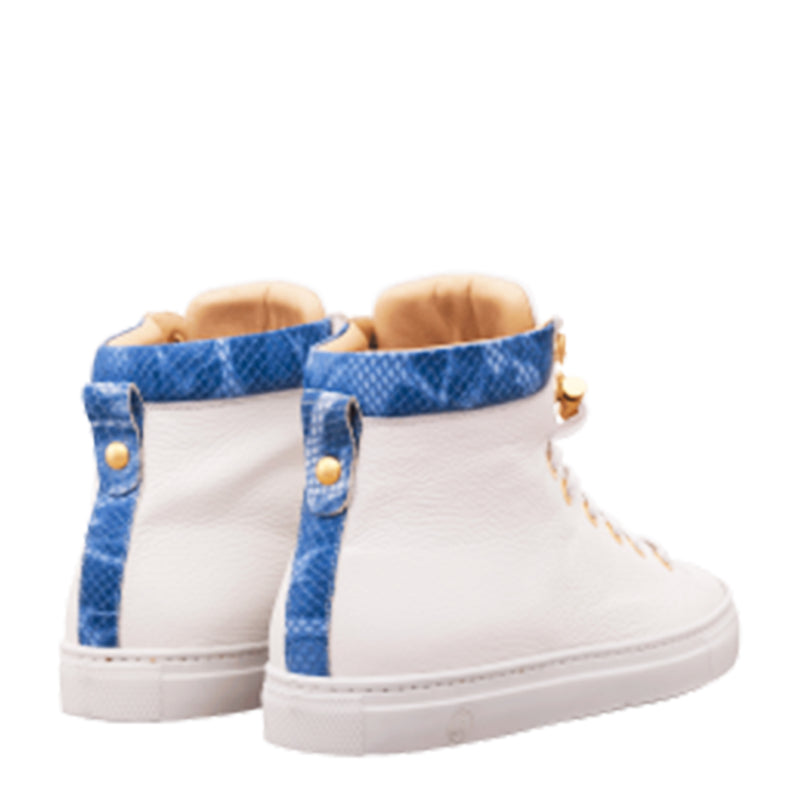 No Limits High White | Blue | Leather