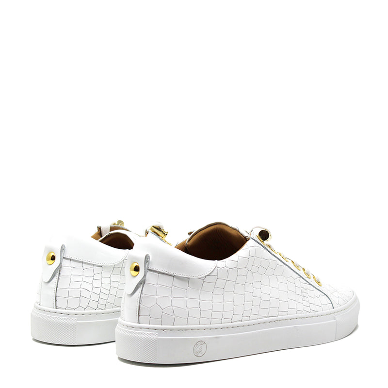 No Limits Low White Croc X Fetty Wap Limited Edition