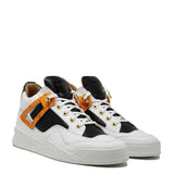 Power White | Naranja | Cuero de avestruz