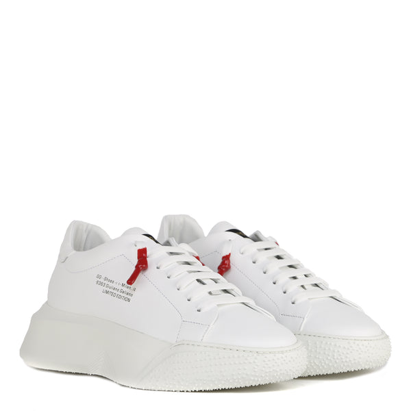 Cobra White | White Leather Limited