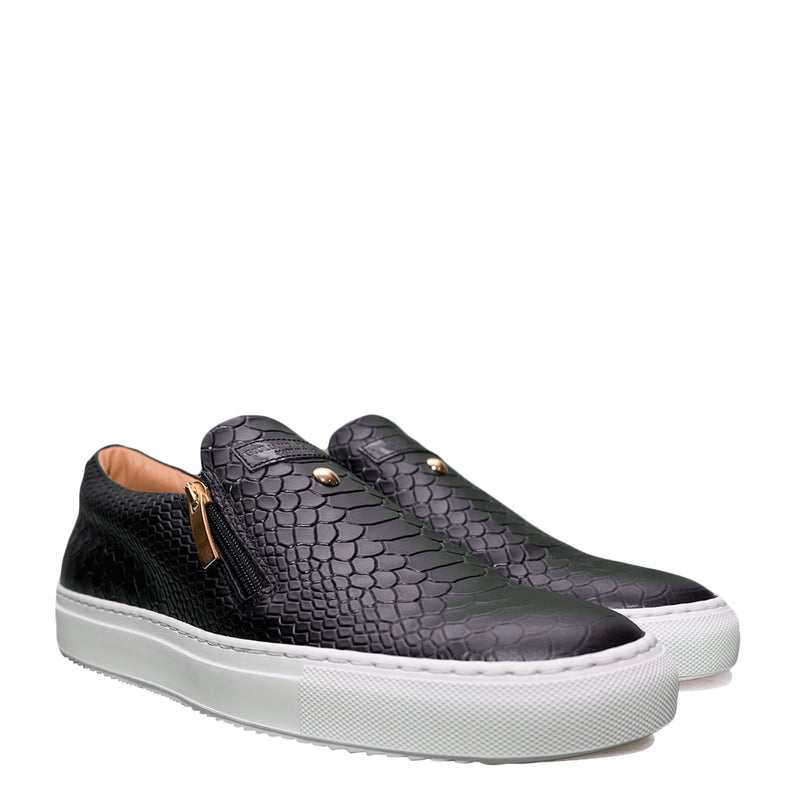 Slip-on Black | Red | Python