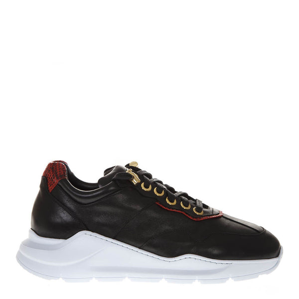 Sneakers in pelle nera | Woman