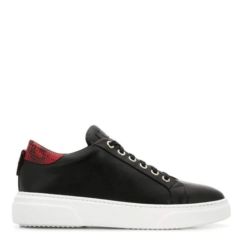 V.I.P. VII Low Black | Red Leather