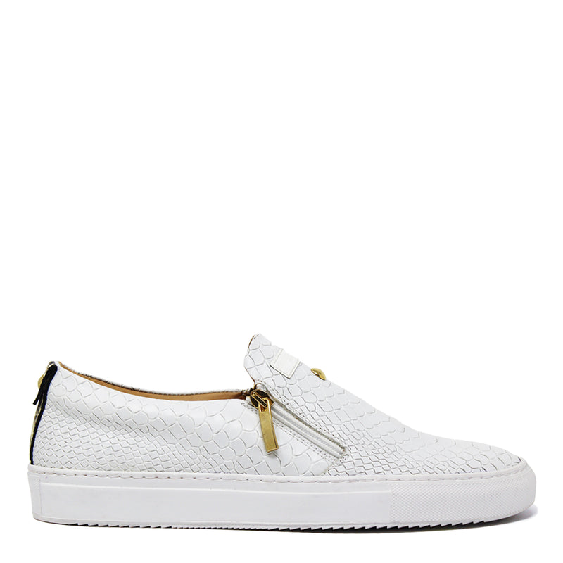 Slip-on White | Grey | Python