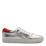 No Limits Low Silver | Rouge | Cuir