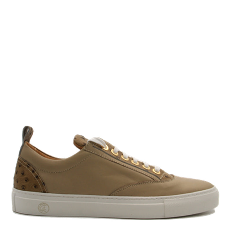 Caviar Low Beige | Beige | Leather