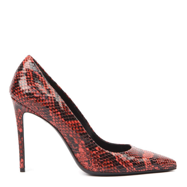 Pump Red Python | Women