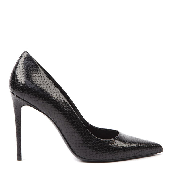 Pump Black Python | Women