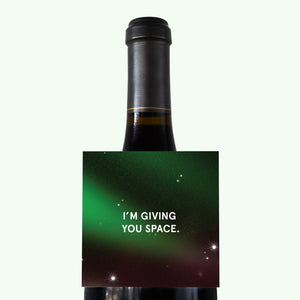 Bonnefetti Wine Tag Space - Im Giving You Space