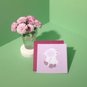Animal Friends – Lily The Lamb Card
