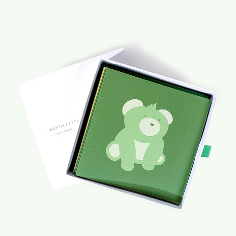 Bonnefetti Greeting Cards Box Set Animal Friends