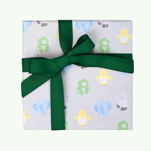 Bonnefetti Animal Friends Wrapping Sheets