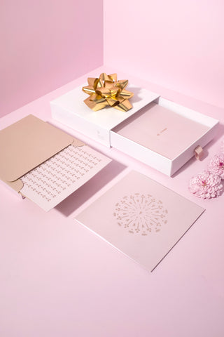 Bonnefetti Have Heart Box Set Cards - Pink with Metallic Foil stamp