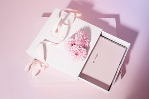 Bonnefetti Have Heart Box Set 12 Cards - Pink with Metallic Foil stamp
