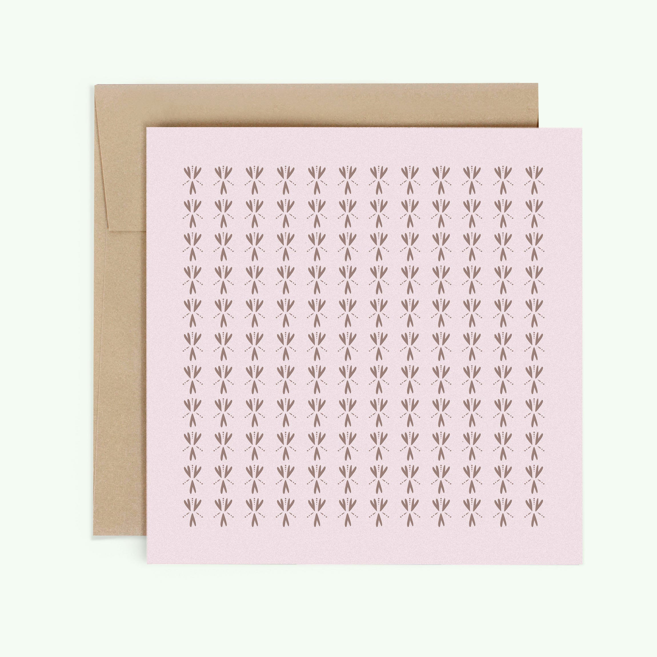 Bonnefetti Have Heart Pink Greeting Card with Metallic Foil Stamp Heart of the Matter