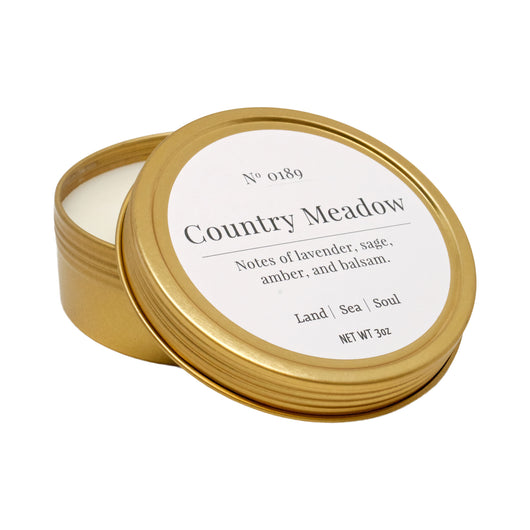 Country Meadow - Travel Candle