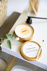 Cedarwood - Travel Candle