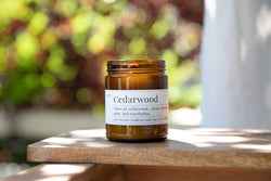 Cedarwood - 8oz Soy Candle