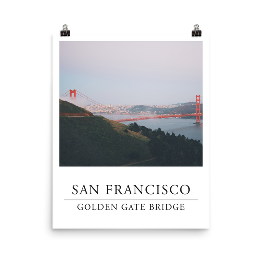 Print of the Golden Gate Bridge