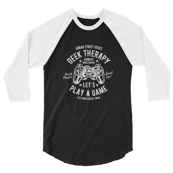 Geek Therapy Raglan