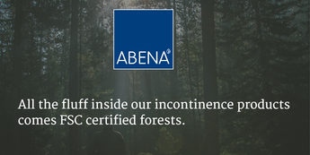 Our Incontinence Products come from Certified Forests 💚