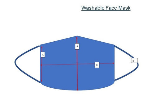 Washable Face Mask | PPE Products | Sanitising Products | Radius Shop | NZ