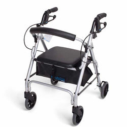 Mobilis Walking Frame - Silver - max user weight: 100kg