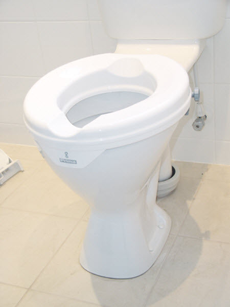 Prima Raised Toilet Seat |  2 inch | DERBY | Toilet & Bathroom | Household & Daily Living | NZ | Radius Shop