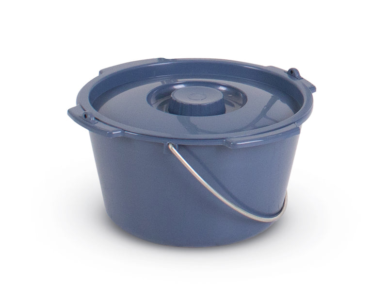 Extra Plastic Bowl (bucket) & Lid to suit 3 in 1 Commode