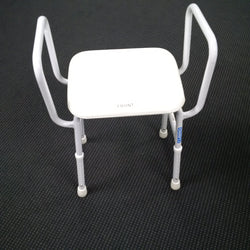 VIKING Shower Stool with Arms and Padded Seat