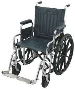 Heavy Duty | Manual Wheelchair | TITAN | 46cm | Mobility | NZ | Radius Shop
