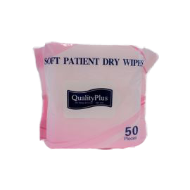Soft Patient Dry Wipes | Quality Plus | Hygiene & Sanitisers | Personal Care | Radius Shop | NZ
