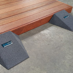 Pair of Easy Access Ramps <br> 100mm H x 250mm W x 400mm D