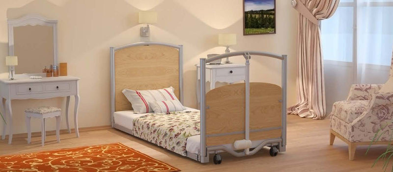 Floor Bed <br> Ultra Low Electric Bed