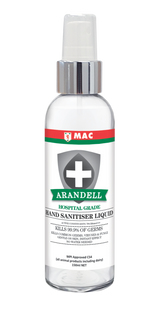 Hand Sanitiser Atomiser 150ml Alcohol-Based | Arandell | Sanitising Products | NZ | Sanitising Products | Radius Shop | NZ