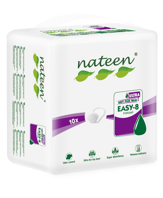 Nateen Easy-8 Super Ultra | Unisex Pads | Adult Incontinence | Radius Shop | NZ