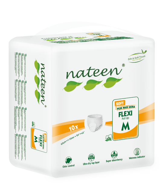 Nateen Flexi Soft Pull-ups | Free Sample | Adult Incontinence | Radius Shop | NZ