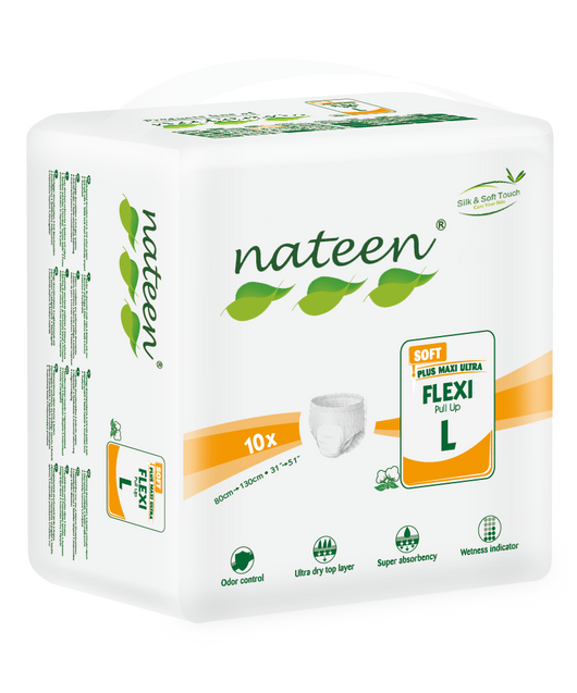 Nateen Flexi Soft Pull-ups | 1800ml capacity  | Adult Incontinence | Radius Shop | NZ