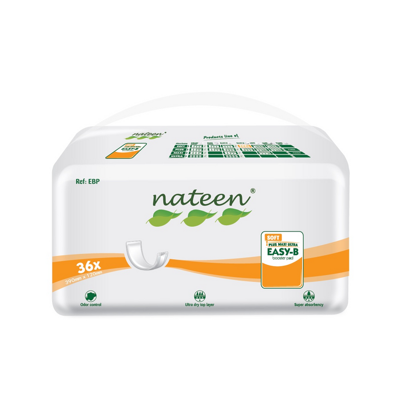 Nateen Booster Pads | Size: Small | 500ml capacity