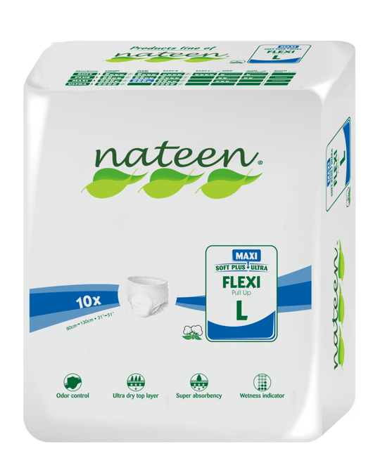 Nateen Flexi Maxi Pull-ups | 3450ml capacity | Adult Incontinence | Radius Shop | NZ