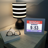 Digital Calendar Clock | Daily Living Aids | Radius Shop | NZ