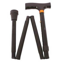 MOVERE Folding Walking Stick T Handle